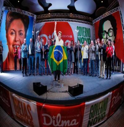Na eleição mais acirrada da história, Dilma se reelege com 51,5%